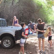 excursions sur l' île/ location de voiture