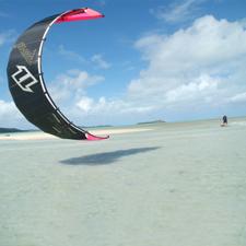le kite et la planche à voile